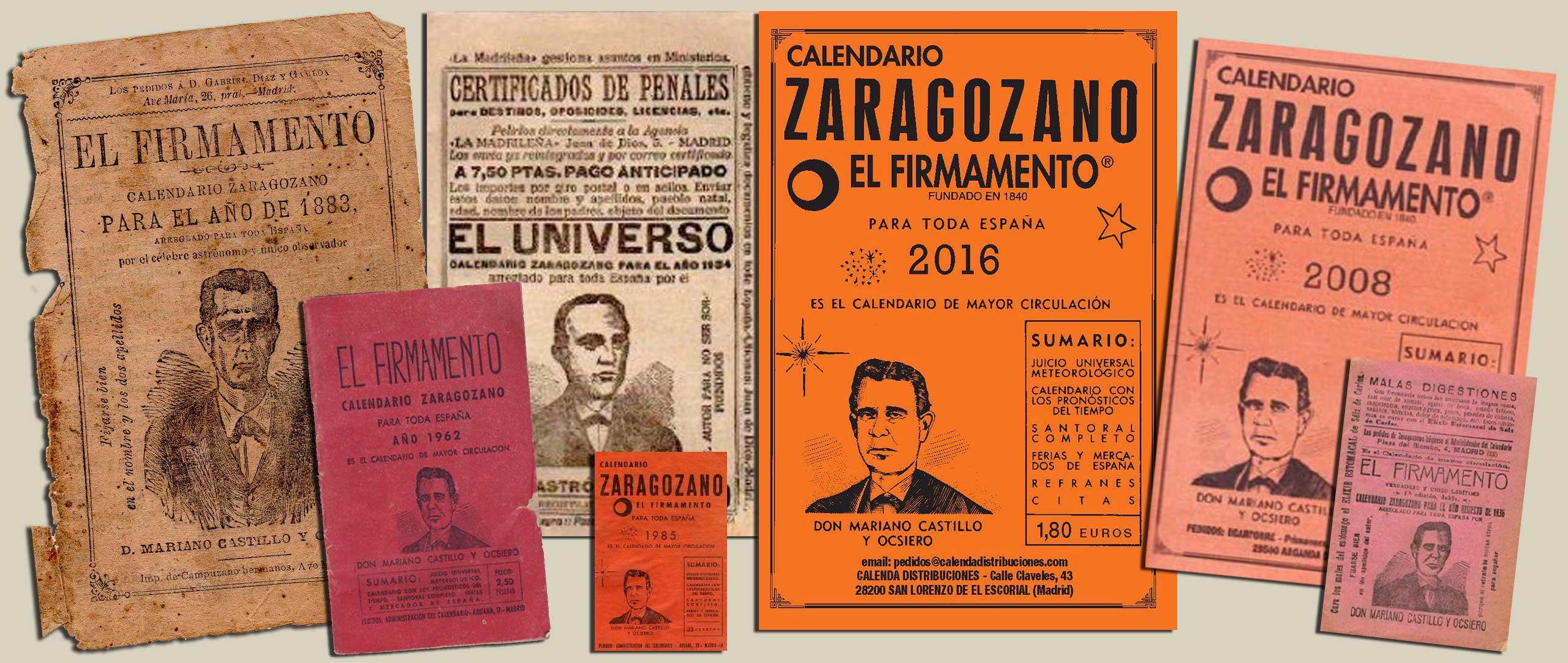 Calendario Zaragozano 2020.Calendario Zaragozano Conoce Toda Su Historia